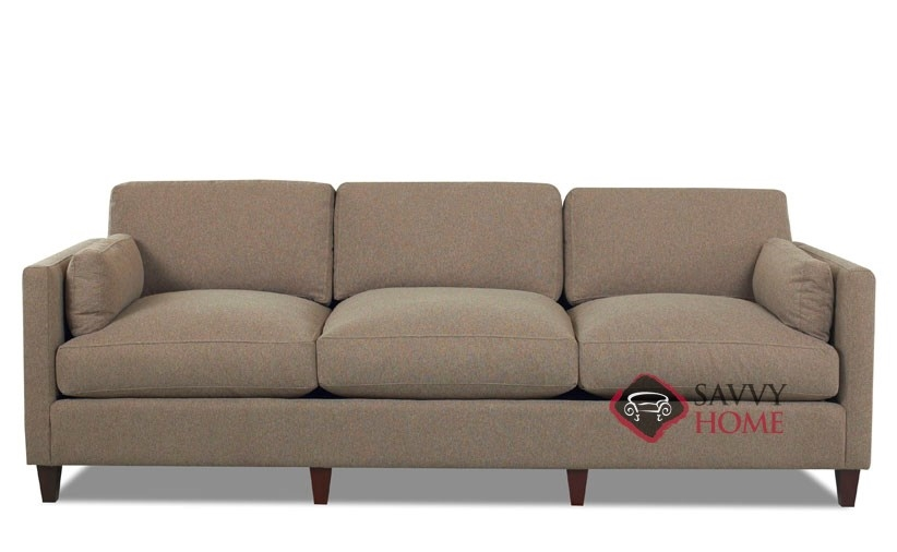jacksonville fabric sofa by savvy is fully customizable by you. Black Bedroom Furniture Sets. Home Design Ideas