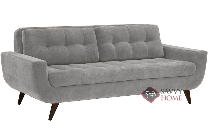 Ava Sofa By Lazar Industries In Luscious Silver