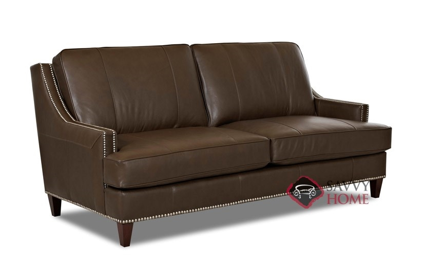 Dallas Leather Sofa By Savvy Savvy Home Store