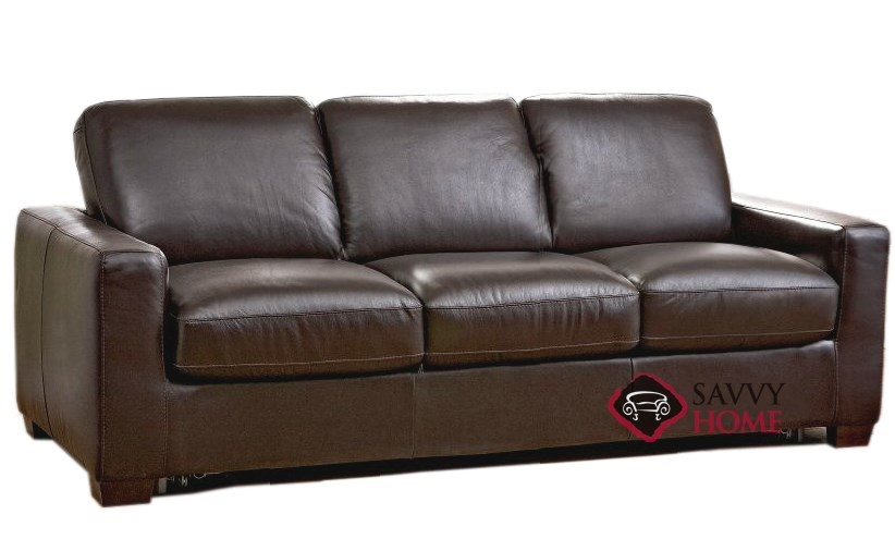 Rubicon B534 Leather Sofa by Natuzzi is Fully