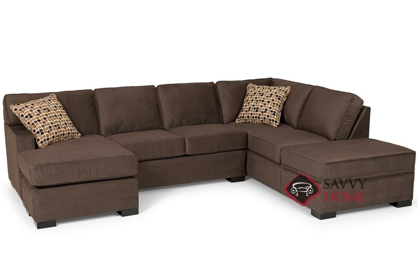 146 fabric chaise sectional by stanton is fully customizable by you. Black Bedroom Furniture Sets. Home Design Ideas