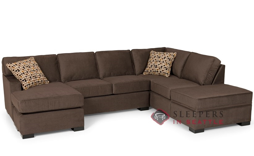 Customize And Personalize 146 Chaise Sectional Fabric Sofa