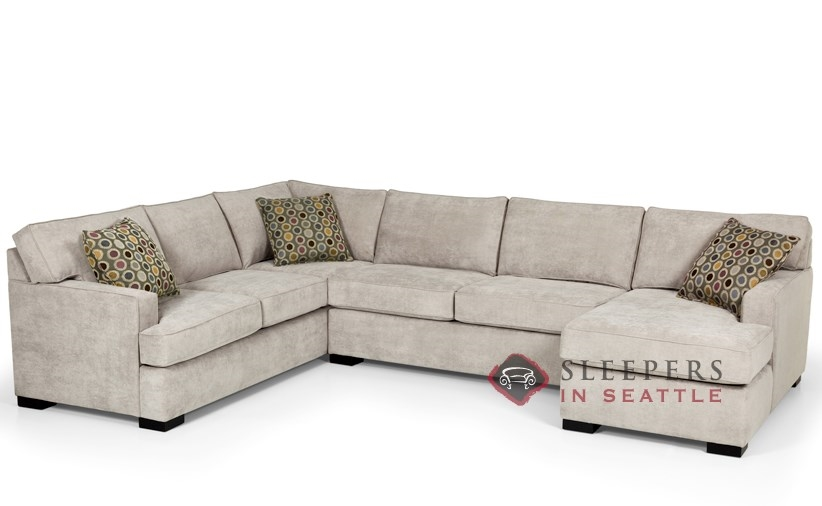 Customize and personalize 146 true sectional fabric sofa Sleeper sofa sectional