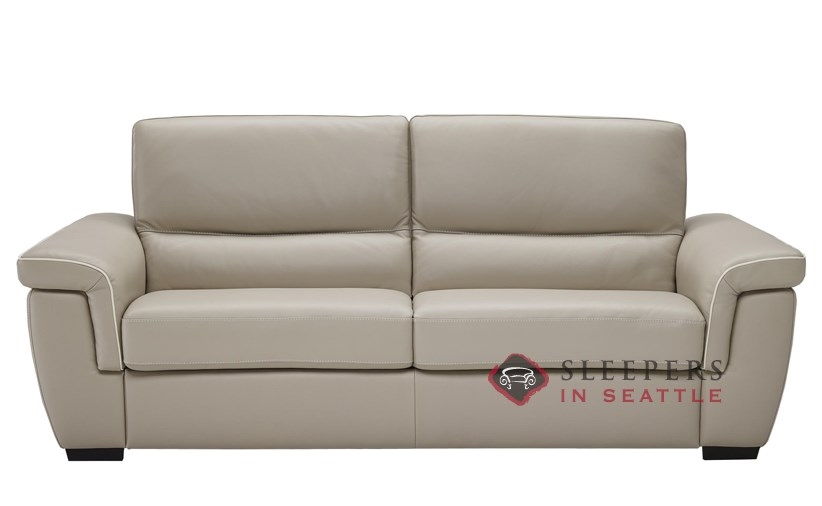 b933264 natuzzi editions cesano leather sleeper sofa full - Natuzzi Sofa