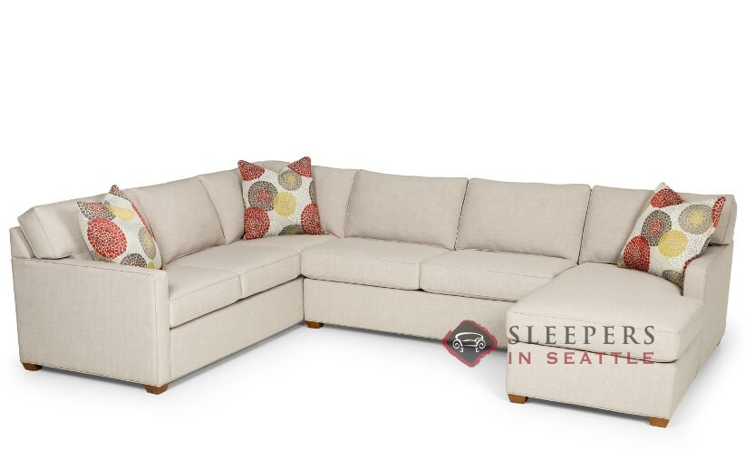 Customize and Personalize 287 True Sectional Fabric Sofa ...