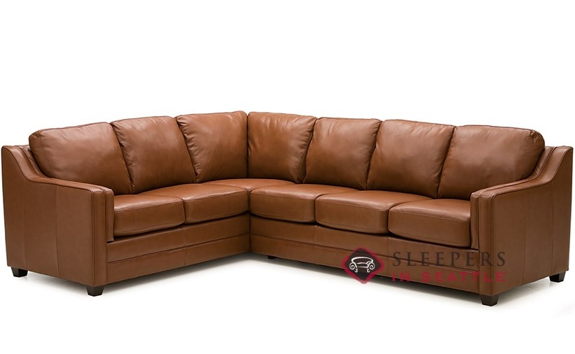 Customize and personalize corissa true sectional leather for Palliser sectional leather sofa