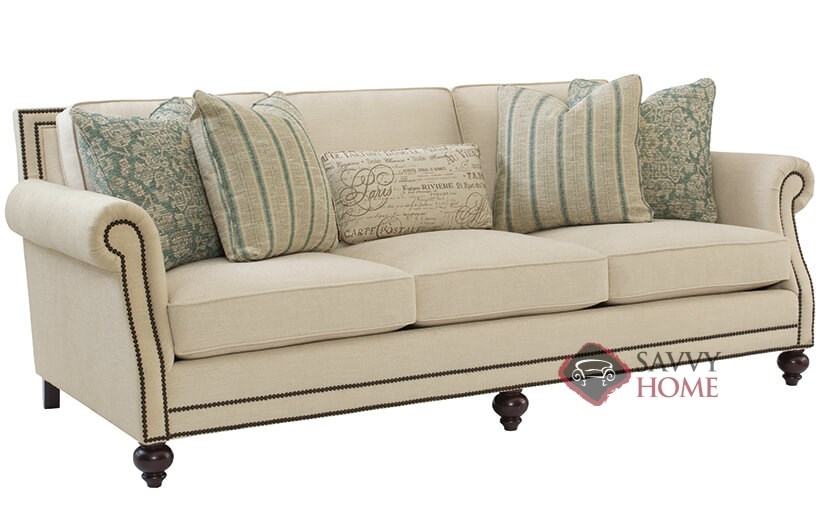 Brae Sofa With Down Blend Cushions By Bernhardt.