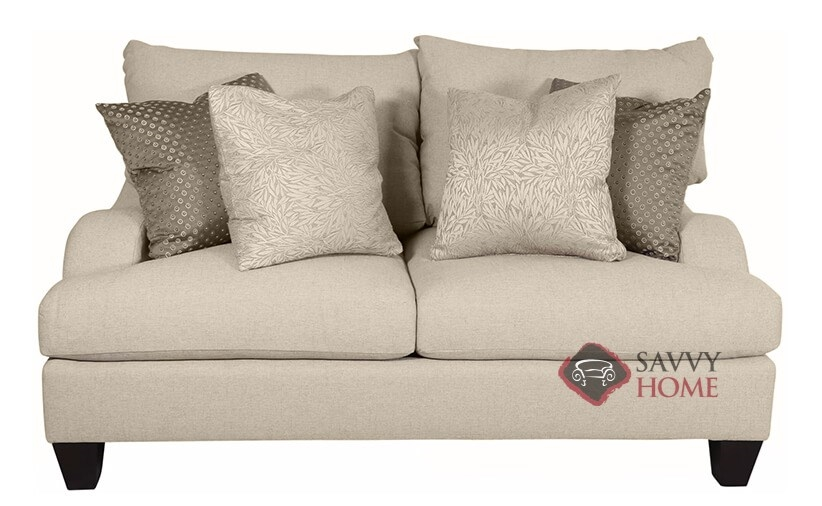 Marvelous Brooke Loveseat With Down Blend Cushions By Ber.