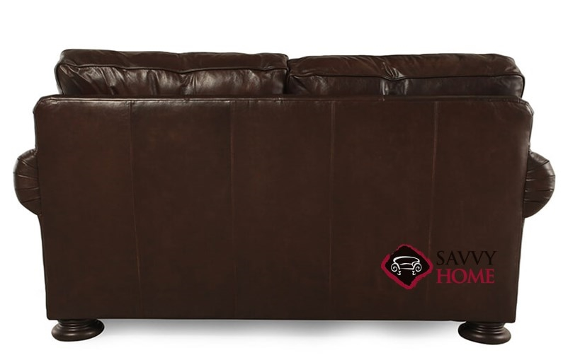 Quick Ship Foster By Bernhardt Leather Loveseat In By Bernhardt With Fast Shipping