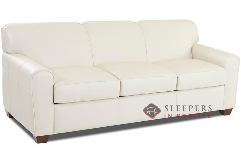 Customize and personalize zurich queen leather sofa by for Sofa bed zurich