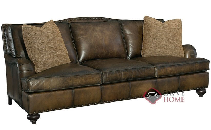 Quick Ship Fulham By Bernhardt Leather Sofa In By