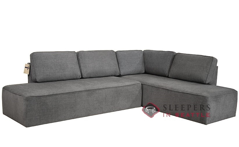 quick ship new york by luonto chaise sectional fabric sofa